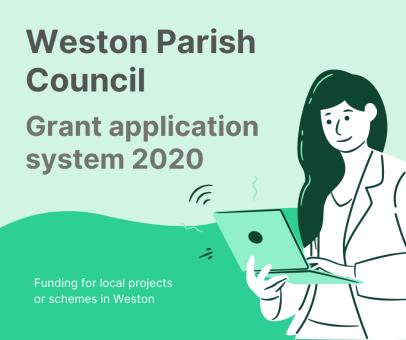 Weston Parish Council grant application system